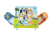 Bluey Kids Table and 2 Chairs Set