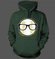 Nerd Power Hoodie - Oakland Athletics A's Eric Sogard Face of MLB Nerds Glasses
