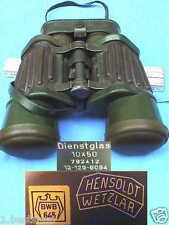 BUNDESWEHR 10x50 HENSOLDT ZEISS DIENSTGLAS FERO D19 MARINE GLAS JAGD BINOCULARS