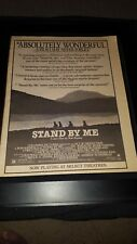 Stand By Me Rare Original Promo Poster Ad Framed!