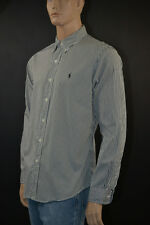 Ralph Lauren Red Blue White Classic Dress Shirt Navy Pony 2xl