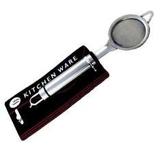 Küchensieb Passiersieb Mehlsieb Teebeutelsieb Küchenhelfer Handsieb Metall 65mm