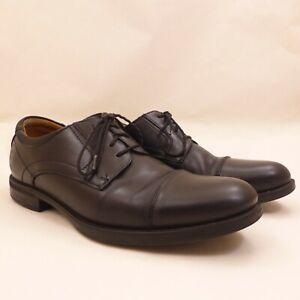 Florsheim Comfortech 12138-001 Mens Cap Toe Lace Up Derby Dress Shoes 10 D