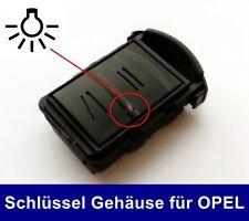 Carcasa llave para Opel Corsa C 1,0 1,2 1,4 1,8 16v 1,7 CDTI 1,7d 1,7 di 1,7