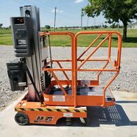 JLG 12SP 12' Battery Manlift Scissor Lift Order Picker Aerial Platform Boom