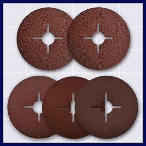 Fiberschleifscheiben Fiberscheibe für Winkelschleifer Ø 125 mm zur Auswahl