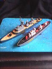 MATCHBOX SEAKINGS K-301 FRIGATE & K-302 CORVETTE- YEAR 1976