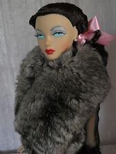 "AllforDoll Chinchilla BOA Fur for 16"" Tonner Tyler Sybarite Gene Ficon BJD Dolls"