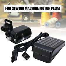 220V 180W 10000RPM Home Sewing Machine Black Motor With Foot Control Pedal 0.9A