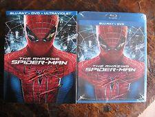 The Amazing Spider Man Blu Ray DVD Target Exclusive w/Bonus Disc & Embossed Slip