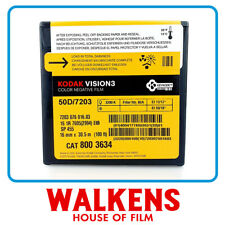 Kodak Vision3 50D 7203 - 100ft 16mm Film - FLAT-RATE AU SHIPPING!