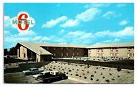 1973 Motel 6 of Idaho Falls, ID Postcard
