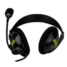 NEW 3.5mm Stereo Gaming Music Headset Earphone With Mic Microphone for PC Laptop