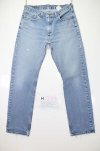 Levis 751 Stone Wash (Code H2213) Tg.48 W34 L34 Jeans Used Taille Haute Vintage