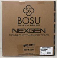 Bosu Ball NexGen Pro 65 cm Balance Trainer Exercise Gym Workout w/ Pump NEW