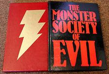 The Monster Society of Evil Ltd Hardcover HC Shazam NOSTALGIA -- RARE/ LOW #517