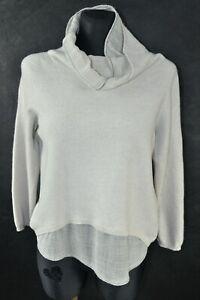 Fabiana Filippi Women's Silk/Cashmere Jumper Sweater M