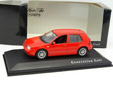 Minichamps 1/43 - VW Golf IV 4 Rouge