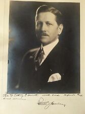 PATRICK HURLEY AUTOGRAPHED PICTURE WRITTEN TO LT. LATHROP E SMITH HOOVER SEC ST.