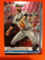 2019 Topps Chrome Update RC Nick Anderson Miami Marlins