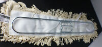 metal dust mop frame 24 x 3 with cotton dust mop (box #2)
