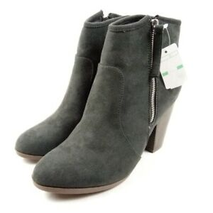 Journee Collection Booties Women Size 8.5 Gray
