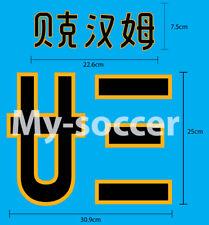 Real Madrid CF Home CHINESE 2003 CHINA TOUR NAME NUMBER PU PRINT