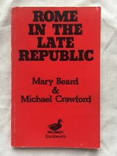 Rome in the Late Republic by M. Crawford, Mary Beard (Paperback, 1989)