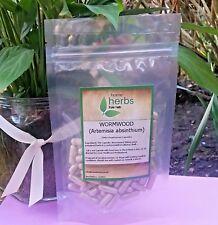 Wormwood (High Strength 500mg Per Capsule)  - 100x Pure Herb Capsules
