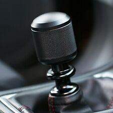 Ssco Bk-Sk Knurled 200 Grams Matte Black 5 6 Speed Shift Knob Weighted Block