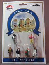 Model Power Street People O Scale People Figures MPW 6066 vf