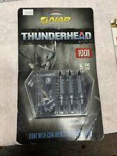 New Archery Thunderhead Broadhead 100 Grain 5-Pack 60-150