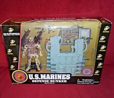 US Marines DEFENSE BUNKER Semper Fi NEW in Sealed Box Dolgen Corp Inc