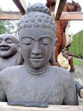 bouddha lotus assis sur coussin,  statue bouddha en pierre , nouveau !!!