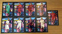 MATCH ATTAX EXTRA 2019/20 SET OF 9 CHAMPION CARDS ALL DIFFERENT ALL LISTED