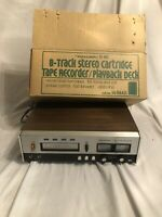 Rare Realistic TR-882 8 Track Tape Player Recorder With Box Only