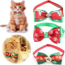 New Dog Bowties Pet Ties For Christmas Adjustable Cute Dog Bow Tie Collar