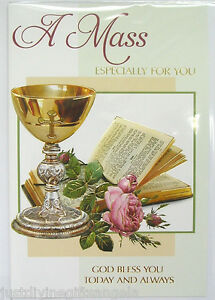 A Mass Especially For You Card Mass Intentions Catholic Mass Card 20112