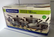 TRAMONTINA 18 PC NON STICK PRIMA WARE COOKWARE SET, NEW