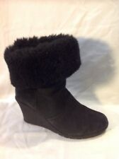 Zippyboot Black Ankle Leather Boots Size 5