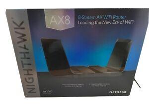 NETGEAR Nighthawk AX8 Dual-Band 8-Stream Wi-Fi 6 Router RAX80