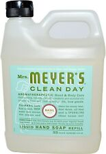 Clean Day Liquid Hand Soap, Mrs. Meyer's, 33 oz refill Basil