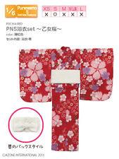 Azone Pureneemo PNS Yukata conjunto Chica joven cerezo Red Blythe Obitsu 1/6