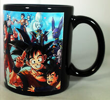 Dragonball Z Super - Black Coffee MUG - Characters Son Goku Dragon Ball Anime