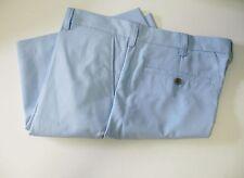 IZOD Mens Lightweight Solid Flat Front Shorts Powder Blue Sz 32W - NWT