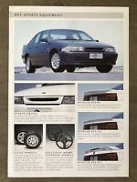 c1991 Holden HSV Sports Equipment original Australian sales brochure/leaflet
