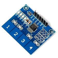 TTP224 4- Channel Digital Touch Sensor Module Capacitive Touch Switch Button Z3
