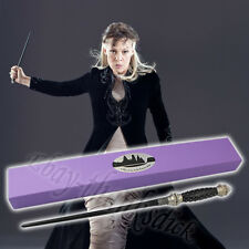 Harry Potter NARCISSA MALFOY 33cm  Magical Wand Wooden Replica Cosplay NIB #03