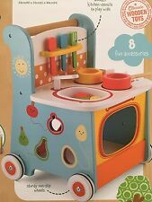 ELC Early Learning Centre Wooden Activity Kitchen Walker - NEW
