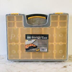 STORE HOUSE 20 Bin Portable Parts Storage Case